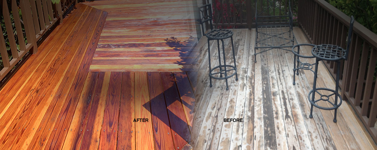 Deck Refinishing and Care San Diego